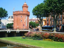 The city of Perpignan